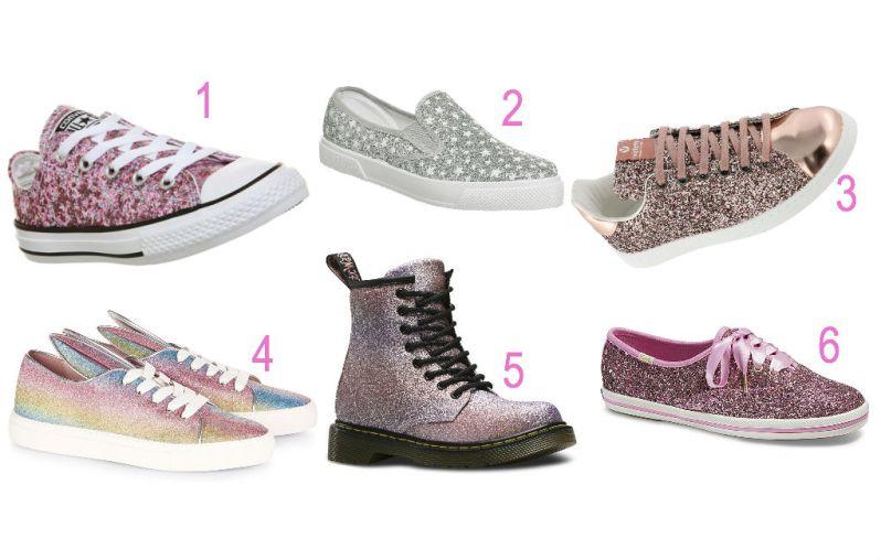 zapatos glitter kbt