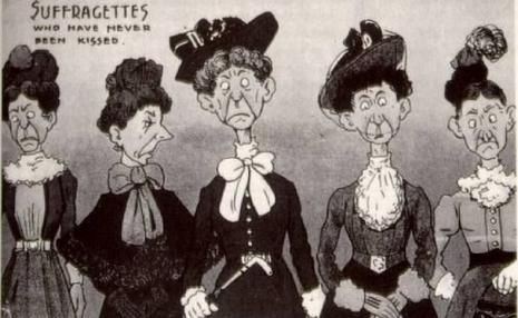 vintage_woman_suffragette_poster_killedbytrend 2