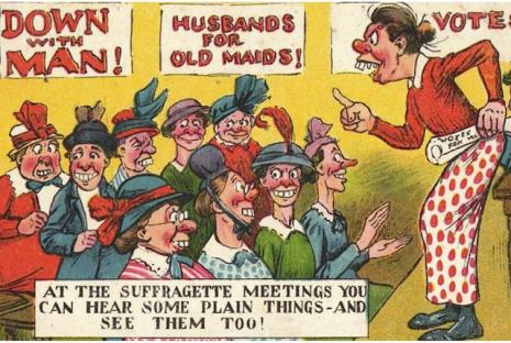 vintage_woman_suffragette_poster_killedbytrend 3